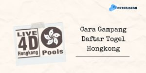 Banner Cara Gampang Daftar Togel Hongkong